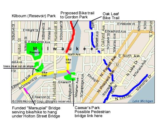 Reservoir Area Map