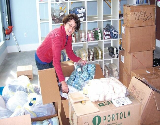Patricia Coloton-Walsh at the new Loop location in the Alterra Riverwest complex.