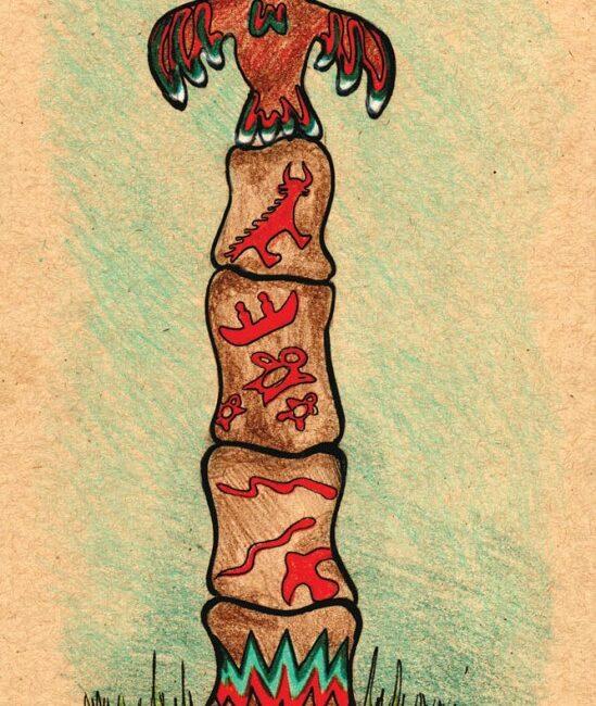 Petroglyph Totem AubreyKroiss