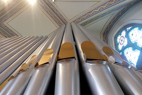 St Casimir Organ Pipes