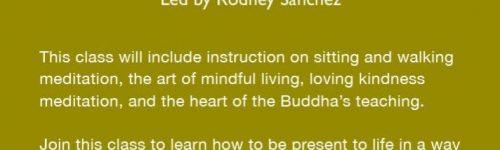 MINDFULNESS MEDITATION RODNEY SANCHEZ