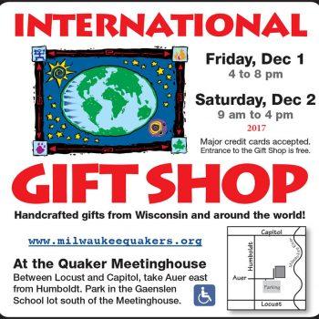 Quaker Gift Shop 2017