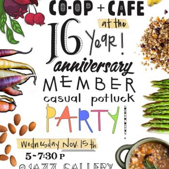 co-op 16th ann flyer